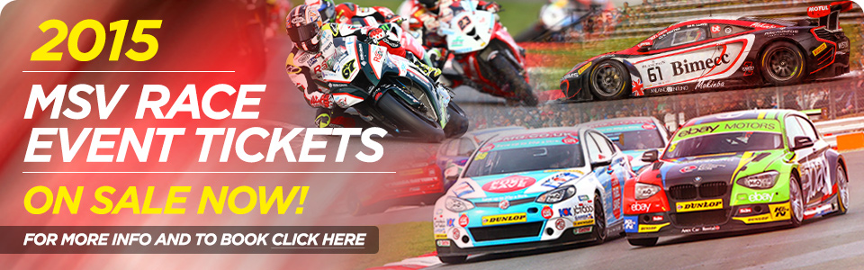 2015 MSV race events on sale now