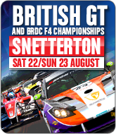 British GT and F4 Championships - Snetterton