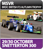 BRDC British F3 Autumn Trophy - Snetterton