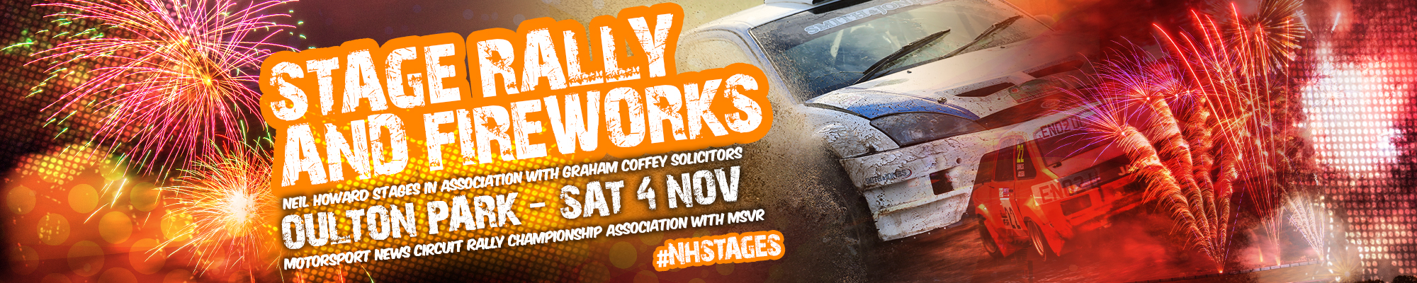 Neil Howard Stage Rally & Fireworks Display