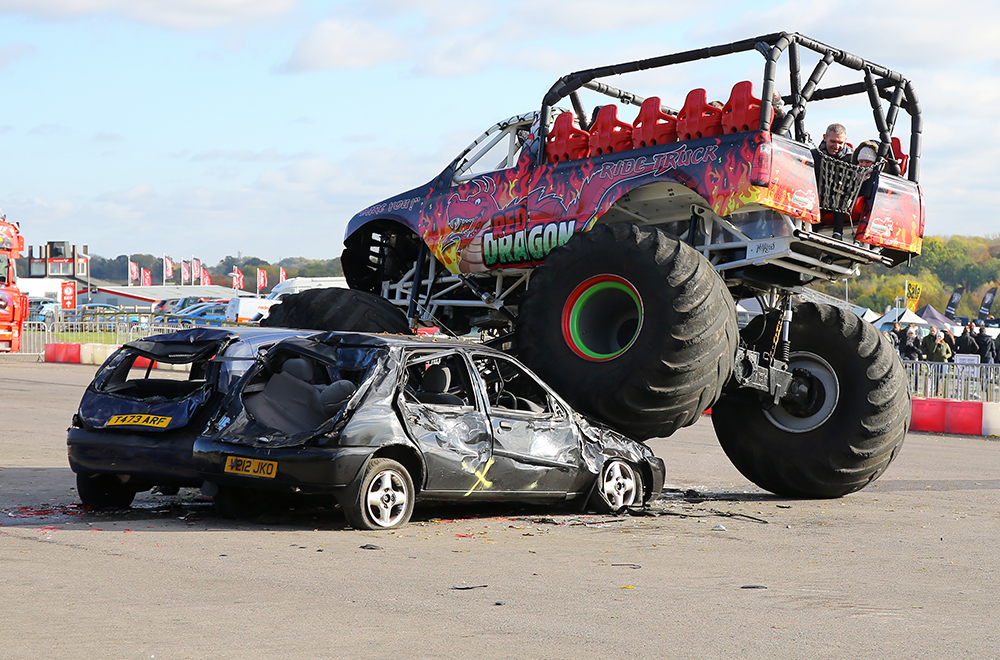 Red Dragon Monster Truck Rides - Sunday