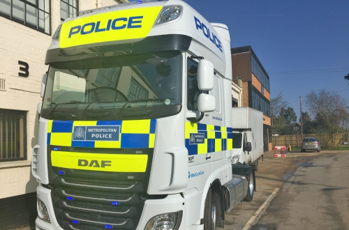 Police Exchanging Places Truck - Sat & Sun