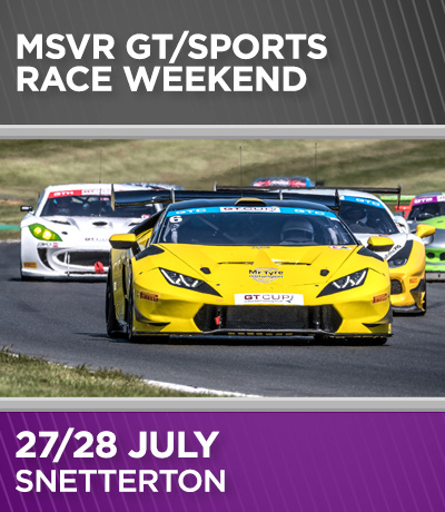 MSVR GT and Sports Weekend - Snetterton