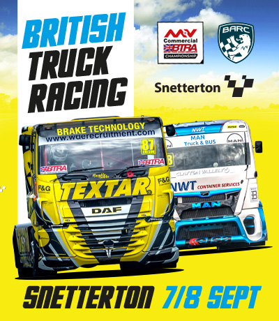 British Truck Racing - Snetterton